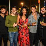 Walter Nunes, Luiz Carlos Lobo, Barbara Reis, Pedro Alvez e Leandro Alencar