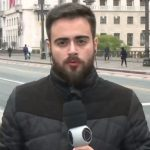 Repórter tem crise de estresse ao vivo na Record e é retirado do ar