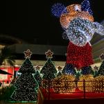 Chegada do Papai Noel e Mickey de 7 metros no Shopping Jardim Sul