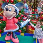 Encontro com Mickey, Minnie e Pluto no shopping Jardim Sul
