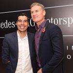 Daniel Dias e David Coulthard