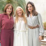 Jurema Marques, Evelise Othman e Marcela Brandão Elias