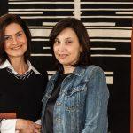 Luciana Bernardina e Leticia Carneiro