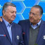 Galvão Bueno se emociona em despedida de Arnaldo Cezar Coelho