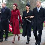 O Natal da família real