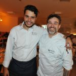 Chef Marcos Amorim e o Chef Bruno Peralta