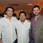 Gustavo Guimarães, Anderson Carvalho e Amir Maluf
