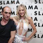 Amir Slama e Gianne Albertoni