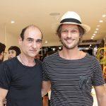 Amir Slama e Marcelo Boldrini