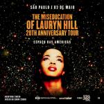 Lauryn Hill retorna ao Brasil para mega show no Espaço das Américas