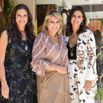 Carol Porto, Riccy Souza Aranha e Ciccy Halpern