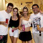Lucas Suman, Carolina Granito, Vanessa Prestes e Fabricia Henrique