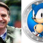 Perfil oficial do game Sonic reage a vídeo de Bolsonaro