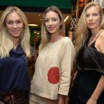 Aline Samy, Juliana Passos e Gabriele Furlan