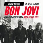 Bon Jovi é confirmado no Rock in Rio 2019