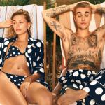 Justin Bieber e Hailey Baldwin na capa da Vogue