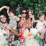 Ivete Sangalo faz festa para comemorar aniversário de filhas gêmeas