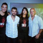 Juliana Carmago, Bruno Gagliasso, Camila e Jacques Dequeker