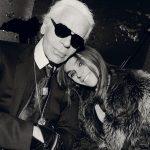 Karl Lagerfeld anuncia parceria com Carine Roitfeld