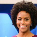 Maju será a primeira mulher negra na bancada do JN