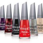 Risqué lança coleção de esmaltes em parceria com a Coca-Cola