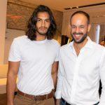 Alex Mellos e Marcelo Salum