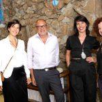 Ligia e Arthur Casas, Elisa Stecca e Madalena Stasi