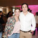 Rafael Vidigal e Renata Barcellos