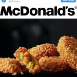 Nuggets vegano deve entrar no menu do McDonald's em breve