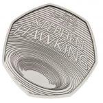 Reino Unido lança moeda para homenagear Stephen Hawking