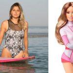 Mattel lança Barbie inspirada na surfista brasileira Maya Gabeira