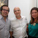 Daniel Roesler, Agnaldo Farias e Alessandra Monteiro de Carvalho