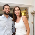 Guilherme Valente e Denise Steagall