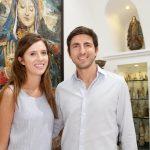 Mariana Guarita e Walter Poladian