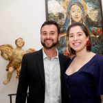 Rafael Schunk e Tamara Ganem