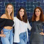 Tati Vartuli, maria Fernanda Piedade e Claudia Meirelles