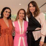 Taciana Veloso, Carla Amorim e Silvia Braz