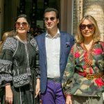 Tania Derani, Alexandre Furmanovich e Silvia Furmanovich
