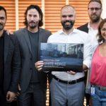Keanu Reeves está no Brasil para negociar produção de série em São Paulo