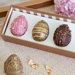 Pati Piva traz ovo ruby com folhas de ouro para a Páscoa