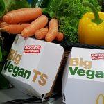 McDonald's lança Big Mac vegano com hambúrguer de origem vegetal