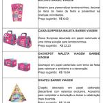 Barbie lança linha de festa inspirada em viagens