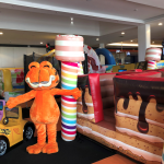 Mundo do Garfield chega ao Shopping Market Place