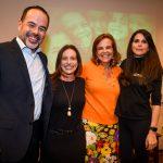 Douglas Tsukimoto, Fabiana Gutierrez, Sonia Quintella e Fabi Saa