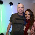 Eduardo Wernek e Renata Junqueira