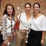 Andrea Janer, Luciana Chapchap Gebara e Gabriela Pileggi
