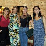 Lana Romani, Flavia Kujawski, Francine Abbud e Milena Estefan
