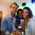 Ricardo, Loyd e Giuliana Melo
