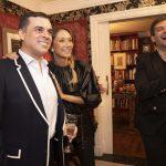 Sandro Barros, Pati Bagattini e Bruno Astuto