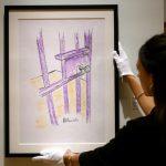 Desenho feito por Mandela na prisão é leiloado por US$ 112 mil em NY